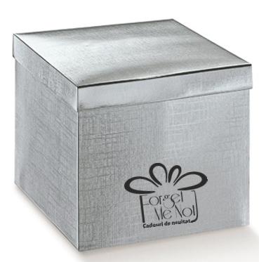 Cutie maxi argintie
