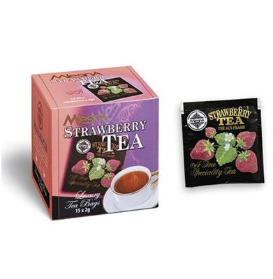 Ceai cu aromă de căpșuni