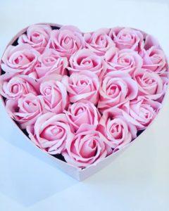 Trandafiri de Sapun - Pink Heart